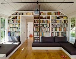 Namų biblioteka knygų mylėtojams