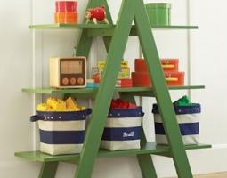 Kaip išradingai panaudoti kopėčias namų interjere