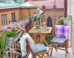 20 idėjų mažai lauko terasai