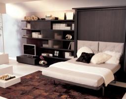 Sieninė lova – modernu ir praktiška