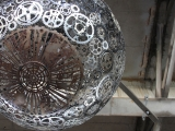 Gamtai draugiškas šviestuvas – originalu ir įspūdinga