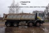 Ekskavatoriaus nuoma, racioko nuoma, traktoriaus nuoma, poliu grezimas 860625738 Vilnius
