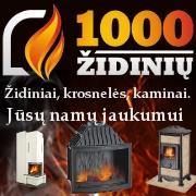 1000zidiniu.lt, židiniai, krosnelės, ugniakurai, kaminai