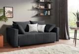 Sofa – lova Nr143 pilka su miego funkcija ir dėže patalynei