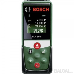 Atstumų matuoklis su Bluetooth BOSCH PLR 30 C (30)