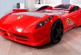 Vaikiška lova mašina Ferrari