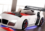 Vaikiška lova mašina Audi