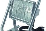 Halogeninė lempa 500W H IP44 5m kabelis