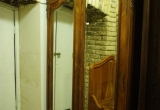 Prancūziška 2 durų spinta su karūna