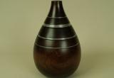 Vaza iš natūralios mango medienos
