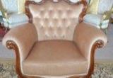 Baroko stiliaus fotelis