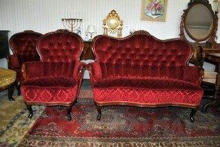Rokoko sofutė ir foteliukas