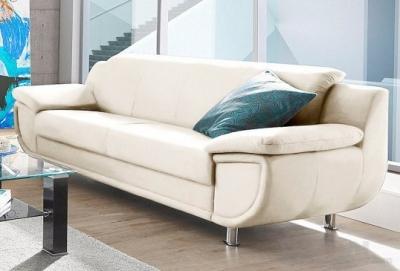 "Natūralios odos vokiška sofa ""Rondo"" www.bramita.lt"