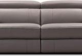 Minkšta sofa Nr160 pilka naturali oda su relax funkcija