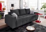 Minkšta sofa lova Bella Nr152 juoda