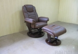 "Vokiškas poilsio fotelis su pufu ""Calgary"" www.bramita.lt"