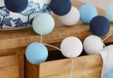 LED medvilniniai kamuoliai ( Cotton ball ) 20 vnt. (3002956)