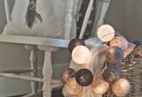 LED medvilniniai kamuoliai ( Cotton ball ) 20 vnt. (3003113)