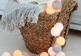 LED medvilniniai kamuoliai ( Cotton ball) 20 vnt. (3003116)
