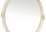 Veidrodis medienos plaušo rėme ovalus 40x50 (išorė 46x57) (3004848)