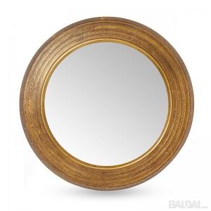 Veidrodis su medienos plaušo rėmu 60x60  (3004859)