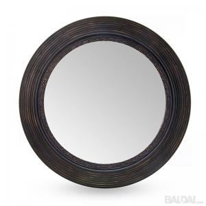 Veidrodis su medienos plaušo rėmu 60x60  (3004860)