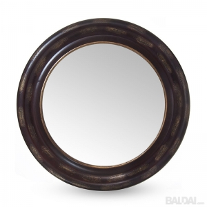 Veidrodis su medienos plaušo rėmu 60x60 (3004861)