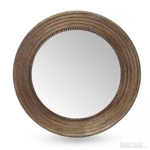 Veidrodis su medienos plaušo rėmu 60x60 (3004862)