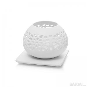 Žvakidė keramikinė ažūrinė 14x14x11 cm (3006757)