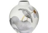 Vaza keramikinė Lotosas 30x30x33 (3021342)