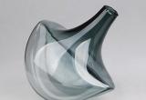 Stiklinė pilka vaza (3027159)