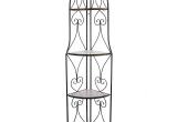 Metalinė/medinė kampinė lentyna (3027184)