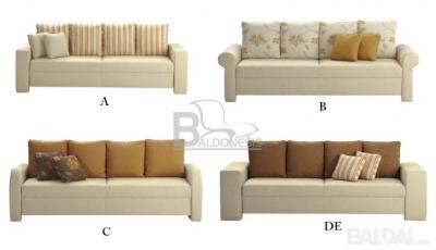 "Miegamoji sofa ""ROLL 3 A/B/C/DE"""