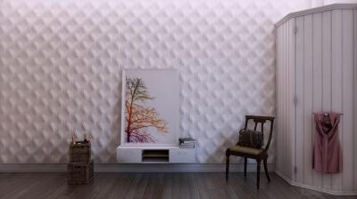 3D sienų plokštės