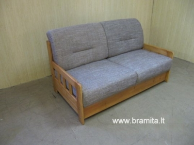 "Vokiškas miegamas dvivietis fotelis ""Campus"" www.bramita.lt"