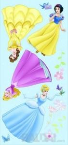 """Sienų lipdukai langams """"Princesė"""""""