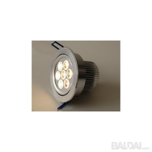7W LED šviestuvas
