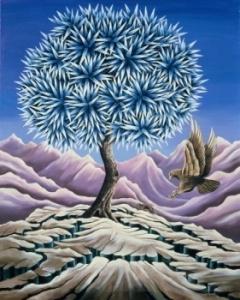 """Reprodukcija """"The Ice Tree"""" 1987"""