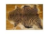 Kilimas iš natūralios karvės odos (dažytas)