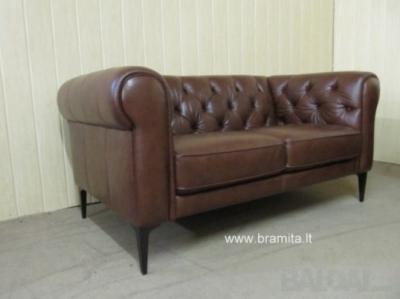 """2-vietė sofa Chessterfild """"TOBOL """" vokiška"""