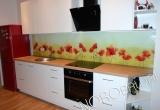 Laminuotas stiklas nestandartiniams virtuvėms