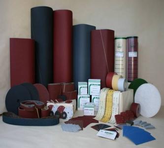Šlifavimo diskeliai, kempinėlės, popierius, audeklas ir kitos medžiagos