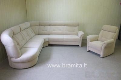 """Novalife audinio vokiškas+fotelis """"Sardinien"""" www.bramita.lt"""