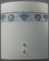 Sieninis šviestuvas CL AKWARIUM max-100W (230*200)