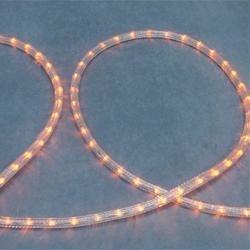 Šviečiantis kabelis LED RL-2W 13mm 220V Geltona