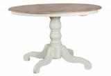 Apvalus pietų stalas (išskleidžiamas) LWN1