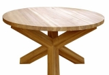 Valgomojo stalas Crossed-leg