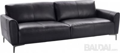 """Sofa 3-vietė """"ACRON """"  natūrali oda vokiška"""