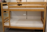 Dobilas dviaukštė lova