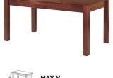 Stalas Max V 80x120/150 (150)